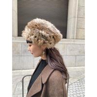 vintage fur hat [Vi227]
