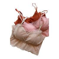 stretch lace bra top A【St015-A】
