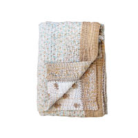 Jeanette farrier baby kantha ジャネットファリア ベビーカンタ beige