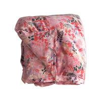 bagaille バガイユ キルトリーフ柄 pink 150x220