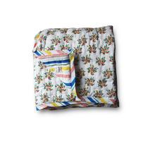 Le petit lucas プチルカ  baby quilt 115x140 Matisse Bouti