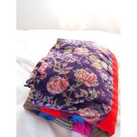 bagaille バガイユ キルト フラワー purple 160x220