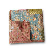 en fil d'Indienne オンフィルダンディエンヌ マルチキルトカバー Jaipur hiver 160x160