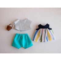 ciel étoilé オリジナル人形用 お洋服 blue