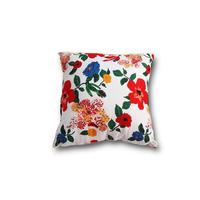 Le petit Lucas プチルカ Cushion 30x30 flower