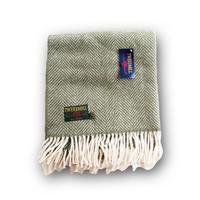 Tweedmill ツイードミル Fishboane showl 70x183 olive