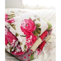 bagaille バガイユ キルト rose white 160x160