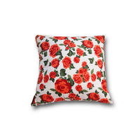Le petit Lucas プチルカ Cushion 30x30 rose