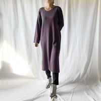 DAZZLE・アシンメトリーネックKnit Dress(9W33026C)