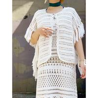 MANIC MONDAY・2way Crochet Tops(9S62007E)