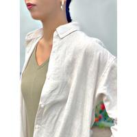 ZURI SELECT・French Linen Shirt Dress