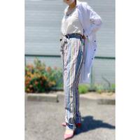 IMPORT・Stripe Ribbon Pants(BL9SS-TB4316)