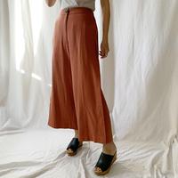 DAZZLE・Linen Rayon Slit Pants(9P34000J)