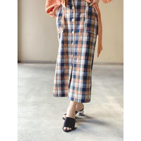 STEVIE・Madras Check Tight Skirt(9S25002J)