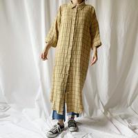 Manic Monday・Check Shirts Dress(9S63012U)