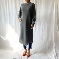 DAZZLE・ワッフルクルーKNIT DRESS(9W33025C)