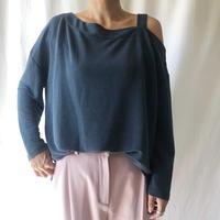 WHOO-AA・アシメキャミロングTシャツ(W9W2062)