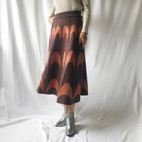 WHOO-AA・ジャガードニットスカート(W9W5010)