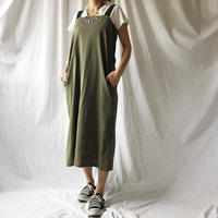 Manic Monday・Elastic  Strap Linen Dress(9S63009E)