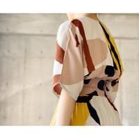 DAZZLE・Print カシュクールLong Dress(0S33006E)