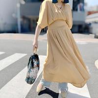 DAZZLE・COLOR カシュクールLong Dress(0S33007E)