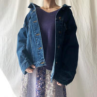 Manic Monday・Drop Shoulder Denim Jacket(9S67000G)
