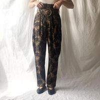 Manic Monday・Leafy Linen Pants(9S64002E)