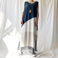 DAZZLE・ブロックパターン柄Dress(9S33006E)