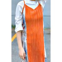 BAD・Center Pleats Cami Dress(9P13007H)