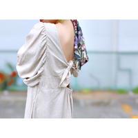 MANIC  MONDAY・Back Knot Dress(0S63005E)