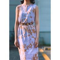 BAD・Tie dye Henry Neck Dress(0S13004E)