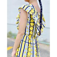 WHOO-AA・Circle Pattern Dress(W9S3040)