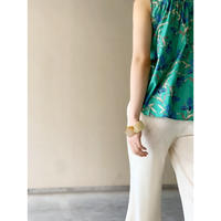 DAZZLE・Knit Lace Hem Wide Pants(9S34004H)
