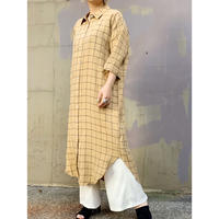 MANIC MONDAY・Check Shirts Dress(9S63012U)