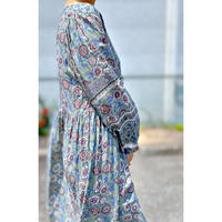 WHOO-AA・Vneck Rayon Dress(W0S3003)