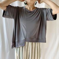 DAZZLE・裾変形リブTシャツ(9W32015J)