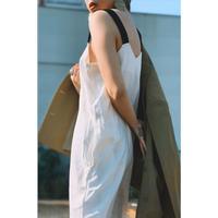 MANIC MONDAY ・Elastic Strap Linen Romper(0S63006E)