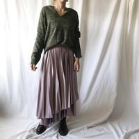 Manic Monday・Satin Pleats Skirt(9W65005T)