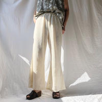 DAZZLE・ニットレースHem Wide Pants(9S34004H)