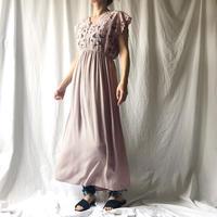DAZZLE・Cut Work ウエストマーク Long Dress(9S33004E)