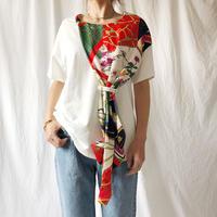 WHOO-AA・スカーフタイTシャツ(W9S2020)