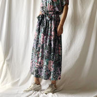 DAZZLE・Vintege Flower ロングスカート(9S35001E)