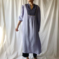 DAZZLE・異素材コンビLong Dress(8P33008J)