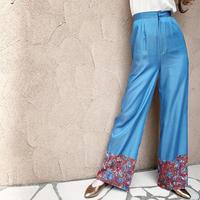 BAD・Flower Hem Combination Pants・¥10780(0S14001H)