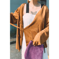 Manic Monday・Fake Suede Short  Jacket(9W66011T)