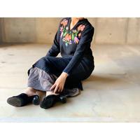 BAD・Embroidery Caftan Long Dress・¥10780(9P13000E)