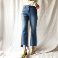 DAZZLE・Hem Cut Denim Pants(8P37000G)