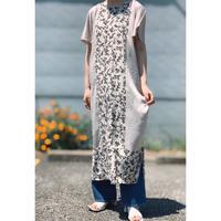 BAD・Center Print Long Dress(8P13002H)