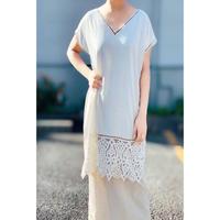 DAZZLE・Lace Cut work Dress(0S33009E)
