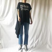 WHOO-AA・アシンメトリーロゴTシャツ(W9W2054)